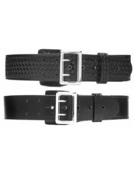 SAM BROWNE BELT - ALL LEATHER
