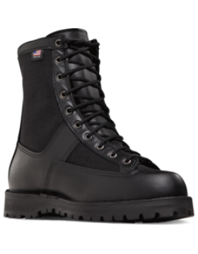 "Danner Acadia 8"" Black -Soft Toe"